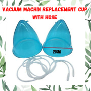 21cm Breast Enhancer Buttock Lifting Vacuum Machin Replacement Cups With Hose