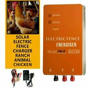 3 Joules High Power Livestock Farm Electric Fence Wire Energizer Dc 12v/220v Ac
