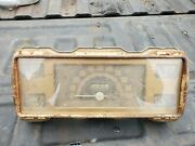 1940s Ford Gauge Cluster. Original. Looks Great. Unknown Operability. Waltham