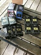 Star Wars Ccg Premiere Limited Edition - Large Lot Of Sealed And Opened Boxesandnbsp