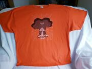 Gossamer Bugs Bunny Being Watched Mens 3xl Orange T Shirt Warner Brothers