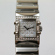 Authentic Omega Constellation Quadra 1539.77 Womenand039s Watch H568370464