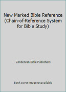 New Marked Bible Reference Chain-of-reference System For Bible Study