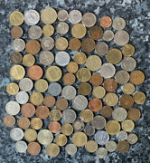 95 World Coins Bulk/joblot Includes One Genuine Real Silver Coin