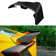 Abs Black Rear Trunk Spoiler Aircraft Wing Flap For Honda Civic 10th 2016-2020