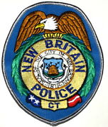 New Britain Connecticut Ct Sheriff Police Patch Shield Beehive