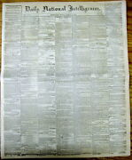 1868 Newspaper Jesse James Gang W Cole Younger Robs Bank @ Russellville Kentucky