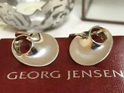 George Jensen Mobius Cufflinks With Box Men's Accessories Shipping From Japan