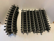 Lot Of 24 Genuine Bachmann Big Hauler G Scale Train Track 16 Straight 8 Curved