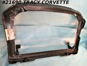 1973-1976 Corvette Radiator Core Support Gm 339176 1st Design And03973-and03976 Early Nos