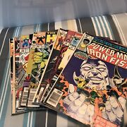 Marvel Comic Book Collection Misc Lot Of 130 Comics 21-79