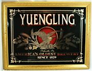 Yuengling Americaand039s Oldest Brewery Beer Mirror Bar/pub Sign 27x21 Mancave Eagle