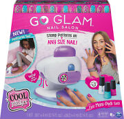 Cool Maker, Go Glam Nail Stamper Salon For Manicures/pedicures With 5 Patterns