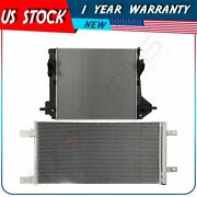 Radiator And Ac Condenser Kit For 2011 12 13 14 15 2016 Ford F-250 Super Duty