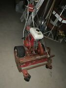27andrdquo Tru Cut Lawnmower With 7 Blade Reel And 5hp Honda Motor From Country Club.