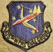 Usaf Us Air Force 475th Weapons Evaluation Group Patch Subdued Rare Vtg Org Mil