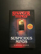 Stranger Things Suspicious Minds By Gwenda Bond Hardcover Barnes And Noble Edition