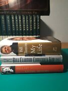 Bill And Hillary Clinton Book Lot