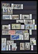 Lot 34068 Stamp Collection French Antarctics 1955-2016.