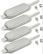 Gas Grill Burner Tube Set For Kenmore Charbroil Burners Replacement Parts 4 Pack