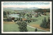 South Mountains From Lake Placid Ny Mount Marcy Postcard 1920s