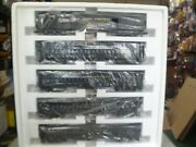 O Scale-williams- Nyc 5 Car Madison Passenger Set- New In Box J9