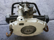 Omc Cushman Truckster 2-cylinder Engine Only - Not Frozen / Turns Over Untested