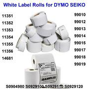 Labelwriter Dymo Compatible Labels For Turbo 330 440 450 4xl 11352 11354 99012