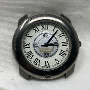 Benneton Bullova Watch For Repair / Parts Untested As Is