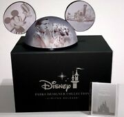New Limited Edition Disney Designer Steamboat Willie Mickey Ears Hat Noah