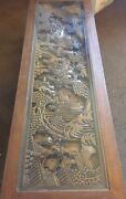 Custom Hand Carved Coffee Table - Made In Hong Kong - Collectible - 1800