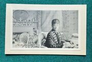 Antique Imperial Russian Signed Photo Dowager Empress Marie Dagmar Romanov 1920