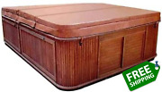 Down East Spas Portsmouth Spa Cover 5 Taper Hot Tub Cover