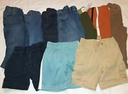 Gymboree Lot Of 10 Pants Shorts Multiple Lines Baby Boys Size 12 18 Months