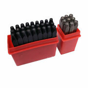 36pcs Letter And Number Stamp Punch Set Hardened Steel Metal 1.5mm12.5mm No Box