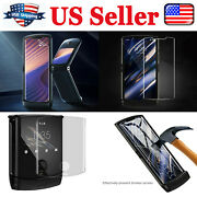 For Motorola Moto Razr 5g Hydraulic Film For Outer Screen Protector Hd Parts Us