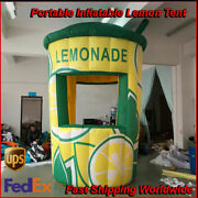 12ft Tall Commercial Inflatable Lemonade Concession Stand Event Drink Tent Booth