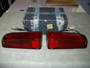 1969 1970 Miura Mangusta Red Tail Lights Lamps Factory Carello Boxed Nos Pair