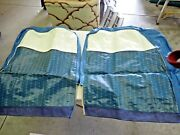 Nors 1949 1950 1951 Ford Beautiful Blue/white Seat Covers