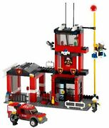 Lego City Fire Department 7240 Free Shipping With Tracking Number New From Japan