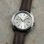 Original Silver Dial Ladies Antique Watch Rare Second Hand1970 Make Old