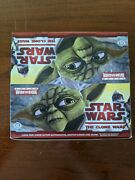 Star Wars The Clone Wars 24 Packs Widevision Hobby Box Topps 2009