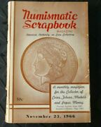 The Numismatic Scrapbook Magazine November 23, 1966 Coin Collecting