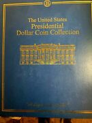 The United States One Dollar Presidential Coin Collection In Binder