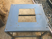 Splayed Leg Delta Rockwell Contractors Model 10 Table Saw Stand 10 Good Shape