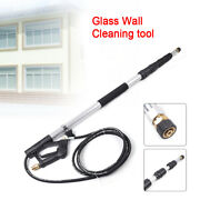 18ft 4000psi Pressure Washer Gutter Cleaner Tool Telescoping Extension Wand New