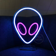 Alien Neon Sign Usb Light Decorations Accessories Bedroom Home Party Customize