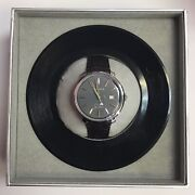 Bulova Frank Sinatra The Best Is Yet To Come Leather Automatic Watch 96b345