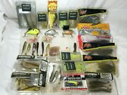 Huge Fishing Lures/bait Lot. Some New And Old W/ Tackle Box