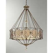 Murray Feiss Marcella Collection 4 Light Chandelier 32 In Diameter Discontinued